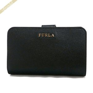 フルラ FURLA レディース 二つ折り財布 バビロン BABYLON レザー ブラック PR85 B30 O06 / 872836 ONYX 【2017年春夏新作】 [在庫品]|brandol