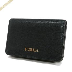 フルラ FURLA 名刺入れ レディース バビロン レザー カードケース ブラック PS04 B30 O60 / 874701 ONYX [在庫品]|brandol