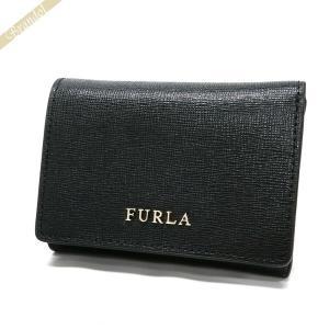 フルラ FURLA 財布 レディース 三つ折り財布 バビロン BABYLON S レザー ブラック PR83 B30 O60 / 894700 [在庫品] brandol