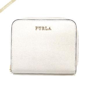 フルラ FURLA レディース 二つ折り財布 BABYLON バビロン スモールジップアラウンド ウォレット レザー ホワイト PR84 B30 PET / 908288 [在庫品]|brandol