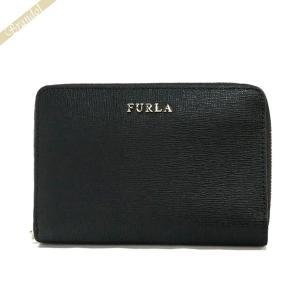 フルラ FURLA 財布 レディース 二つ折り財布 BABYLON バビロン レザー ブラック PT16 B30 O60 / 908349 [在庫品] brandol