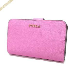 フルラ FURLA 財布 レディース 二つ折り財布 バビロン BABYLON レザー ピンク PR85 B30 OR9 / 922606 [在庫品]|brandol