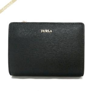 フルラ FURLA 財布 レディース 二つ折り財布 BABYLON バビロン レザー ブラック PU75 B30 O60 / 943509 ONYX [在庫品]|brandol