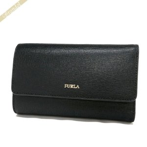 フルラ FURLA 財布 レディース 三つ折り財布 BABYLON バビロン 定期入れ付 レザー ブラック PU76 B30 O60 / 943532 ONYX [在庫品]|brandol