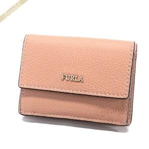 フルラ FURLA レディース 三つ折り財布 レザー ミニウォレット ライトピンク PZ12 OAS 6M0 / 962282 [在庫品]|brandol