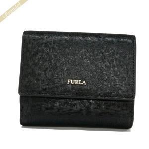 フルラ FURLA レディース 二つ折り財布 BABYLON バビロン レザー ミニ財布 ブラック PZ57 B30 O60 / 978869 [在庫品]|brandol
