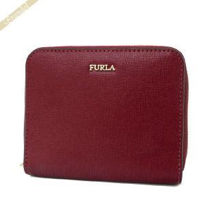 フルラ FURLA レディース 二つ折り財布 BABYLON バビロン スモールジップアラウンド ウォレット レザー ボルドー PR84 B30 CGQ / 979026 [在庫品]|brandol