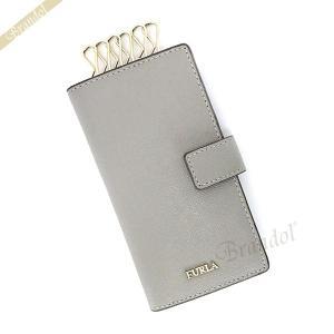 フルラ FURLA レディース キーケース バビロン BABYLON カード入れ付 縦型 レザー グレー RQ17 B30 KJN / 979211 [在庫品]|brandol