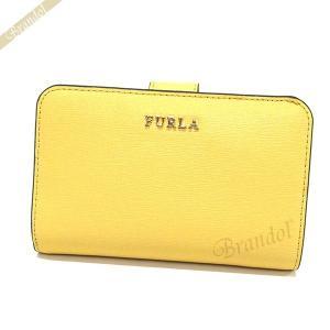 フルラ FURLA レディース 二つ折り財布 バビロン BABYLON レザー イエロー PR85 B30 ET8 / 992611 [在庫品]|brandol