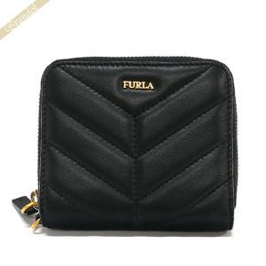 フルラ FURLA 財布 レディース 二つ折り財布 レザー ラウンドファスナー ブラック PAZ2 2Q0 O60 / 993355 【2019年春夏新作】 [在庫品]|brandol