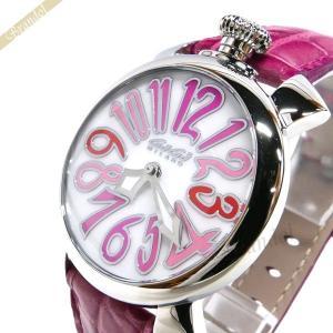 ガガミラノ GaGa MILANO メンズ・レディース 腕時計 マヌアーレ MANUALE 40mm ピンク 5020.6 [在庫品]|brandol