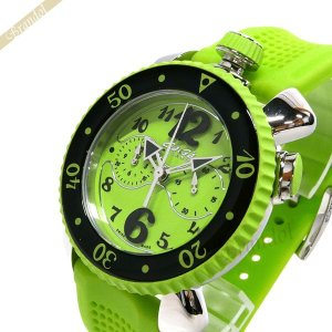 ガガミラノ GaGa Milano メンズ・レディース 腕時計 クロノスポーツ CHRONO SPORTS 46mm ライトグリーン 7010.07|brandol