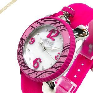 ガガミラノ GaGa Milano レディース 腕時計 LADY SPORTS 39mm ホワイトシェル×ピンク 7020.06|brandol