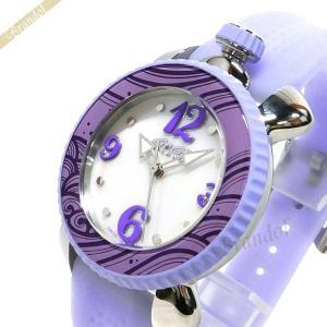 ガガミラノ GaGa Milano レディース 腕時計 LADY SPORTS 39mm ホワイトシェル×ライトパープル 7020.07|brandol
