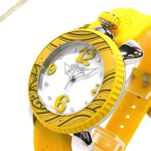 ガガミラノ GaGa Milano レディース 腕時計 LADY SPORTS 39mm ホワイトシェル×イエロー 7020.08|brandol