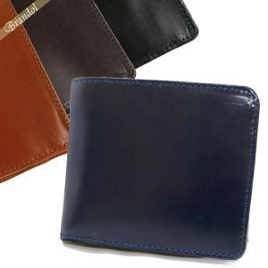グレンロイヤル GLENROYAL 財布 メンズ 二つ折り財布 本革 ブライドルレザー 各色 03-4128 [在庫品]|brandol