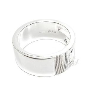 グッチ GUCCI 指輪 メンズ・レディース リング ブランデッド Gリング シルバー 032660 09840 8106 [在庫品]|brandol|02