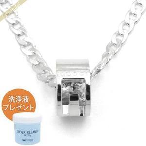 グッチ GUCCI ネックレス メンズ・レディース Gリング ペンダント シルバー 223351 J8400 8106 [在庫品]|brandol