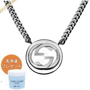 グッチ GUCCI ネックレス メンズ Gロゴモチーフ ペンダント シルバー 246492 J8400 8106 [在庫品]|brandol