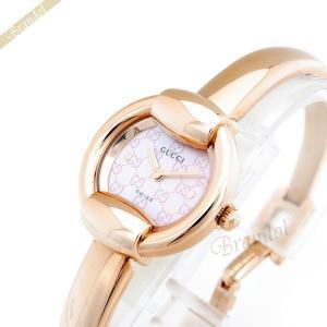 グッチ GUCCI レディース腕時計 1400 バングルウォッチ 25mm ピンク×ピンクゴールド YA014516 [在庫品]|brandol