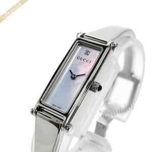 グッチ GUCCI レディース腕時計 1500 1Pダイヤ ピンクパール YA015554 [在庫品]|brandol