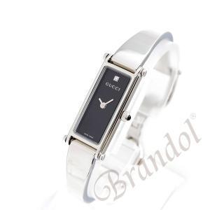 グッチ GUCCI レディース腕時計 1500 1Pダイヤ ブラック YA015555 [在庫品]|brandol|02