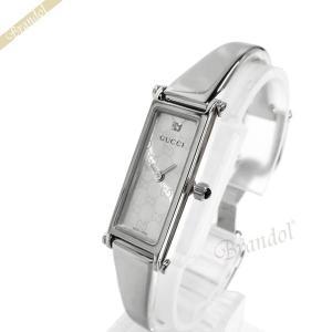 グッチ GUCCI レディース腕時計 1500L 1Pダイヤモンド モノグラム シルバー YA015563 [在庫品] brandol