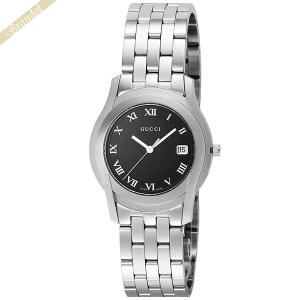 グッチ GUCCI メンズ・レディース腕時計 Gクラス 35mm ブラック YA55302MSS-BLK [在庫品]|brandol