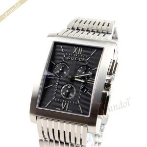 グッチ GUCCI メンズ腕時計 Gメトロ クロノグラフ ブラック YA086309 [在庫品]|brandol