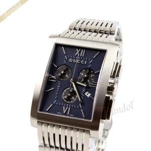 グッチ GUCCI メンズ腕時計 Gメトロ クロノグラフ ネイビー YA086318 [在庫品]|brandol
