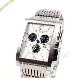 グッチ GUCCI メンズ腕時計 Gメトロ クロノグラフ シルバー YA086319 [在庫品]|brandol