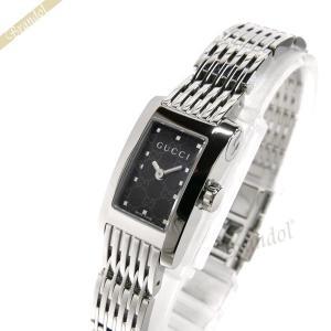 グッチ GUCCI レディース腕時計 Gメトロ レクタングル ブラック×シルバー YA086514 [在庫品]|brandol