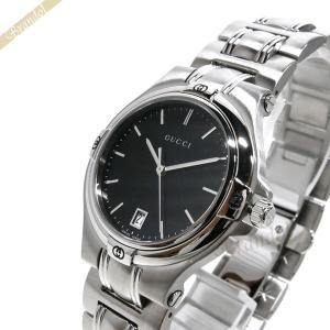 グッチ GUCCI メンズ腕時計 9045 34mm ブラック YA090304|brandol