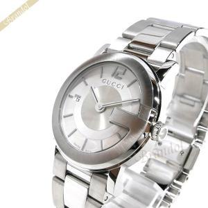 グッチ GUCCI メンズ腕時計 Gラウンド 36mm ホワイト YA101406 [在庫品]|brandol