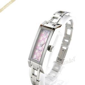 グッチ GUCCI レディース腕時計 Gリンク G-LINK ピンクシェル×シルバー YA110524 [在庫品]|brandol