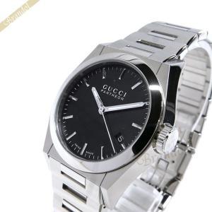 グッチ GUCCI メンズ腕時計 パンテオン ブラック YA115423 [在庫品]|brandol