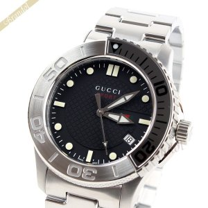 グッチ GUCCI メンズ腕時計 Gタイムレス 45mm ブラック YA126251 [在庫品]|brandol