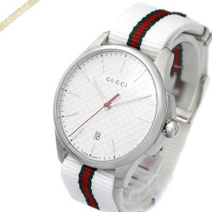 グッチ GUCCI メンズ・レディース メンズ腕時計 Gタイムレス 40mm ホワイト YA126322|brandol