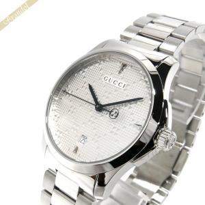 グッチ GUCCI メンズ腕時計 Gタイムレス G-Timeless 38mm シルバー YA1264024 [在庫品] brandol