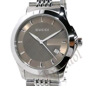 グッチ GUCCI メンズ腕時計 Gタイムレス 38mm ブラウン YA126406 [在庫品]|brandol|03
