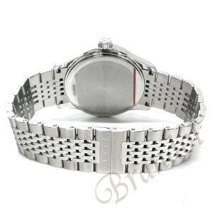 グッチ GUCCI メンズ腕時計 Gタイムレス 38mm ブラウン YA126406 [在庫品]|brandol|05