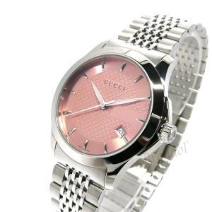 グッチ GUCCI レディース腕時計 Gタイムレス G-Timeless 38mm ピンク×シルバー YA126429 [在庫品]|brandol|02