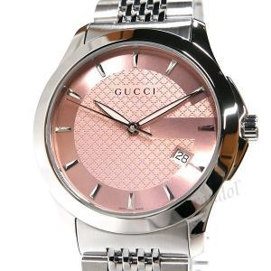 グッチ GUCCI レディース腕時計 Gタイムレス G-Timeless 38mm ピンク×シルバー YA126429 [在庫品]|brandol|03