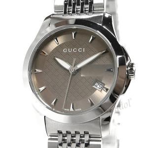 グッチ GUCCI レディース腕時計 Gタイムレス G-Timeless 27mm ブラウン×シルバー YA126503 [在庫品]|brandol|03