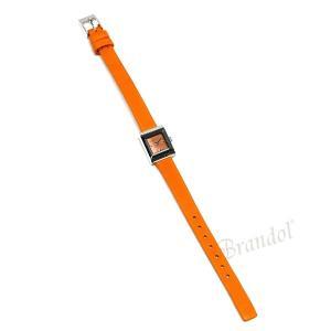 グッチ GUCCI レディース腕時計 Gフレーム G-Frame スクエア オレンジ YA128532 [在庫品]|brandol|05