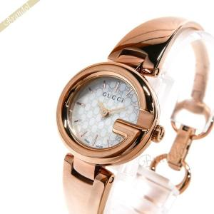 1799a93d8db4 グッチ GUCCI レディース腕時計 グッチシマ ホワイトシェル×ピンクゴールド YA134513 [在庫品]