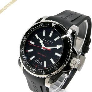 グッチ GUCCI メンズ腕時計 DIVE 40mm ブラック YA136303|brandol