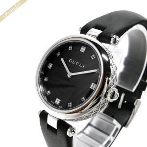 グッチ GUCCI レディース腕時計 ディアマンティッシマ ブラック YA141403 [在庫品]|brandol