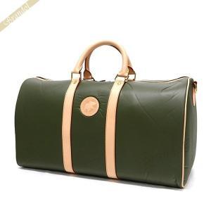 ハンティングワールド HUNTING WORLD メンズ ボストンバッグ 48cm BATTUE ORIGIN GREEN グリーン 1073 10A [在庫品]|brandol