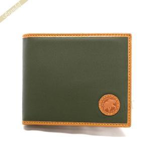 ハンティングワールド HUNTING WORLD メンズ 二つ折り財布 グリーン 310 10A BATTUEOR GREEN [在庫品]|brandol